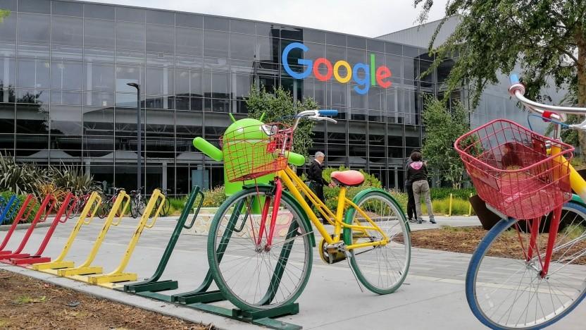 Bei Google in Mountain View dürfte es weiter ruhig bleiben.