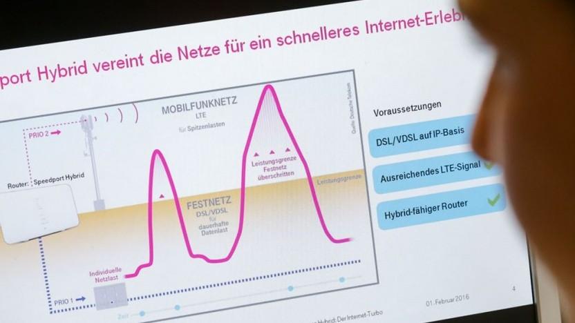 Telekom: Neue Option beschleunigt Festnetz per LTE um bis zu 300 Mbit/s