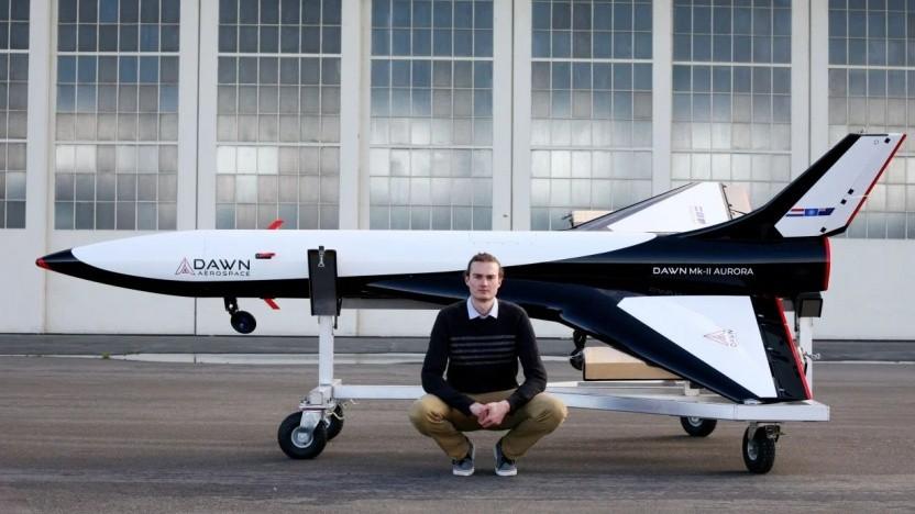 Weltraumflugzeug Dawn Mk-II Aurora: mehrere Starts am gleichen Tag starten
