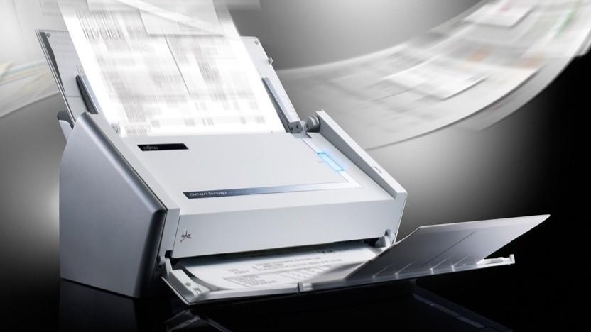 Fujitsu-Einzugsscanner