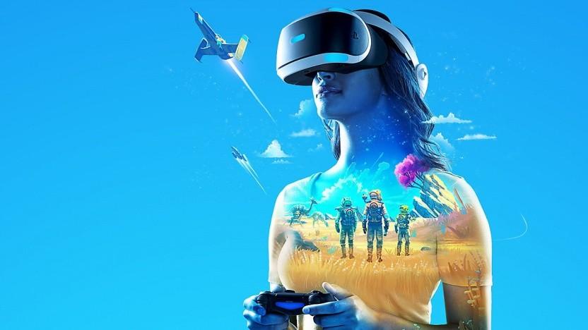 Artwork von No Man's Sky für Playstation VR