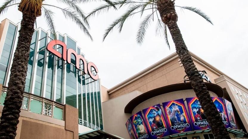 Ein AMC-Kino in Burbank, Kalifornien