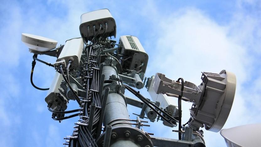Die meisten Antennenstandorte haben Richtfunk als Backhaul.