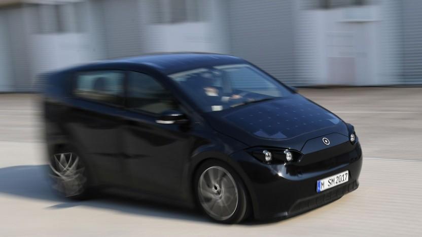 Solar-elektrisches Auto Sion: Die Elektroautoprämie schließt Startups aus.