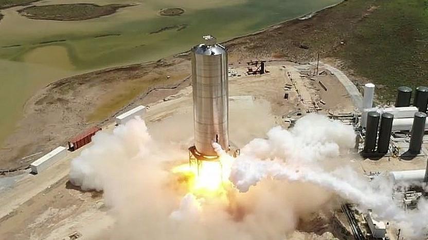 Erfolgreicher Triebwerkstest des Starship: Vier Vorgänger wurden zerstört.