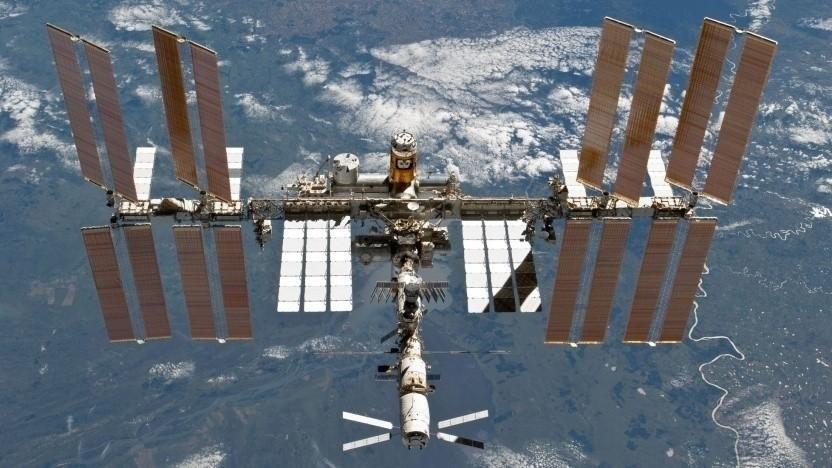 Raumstation ISS: Werbung für die ambitionierten Pläne der Nasa