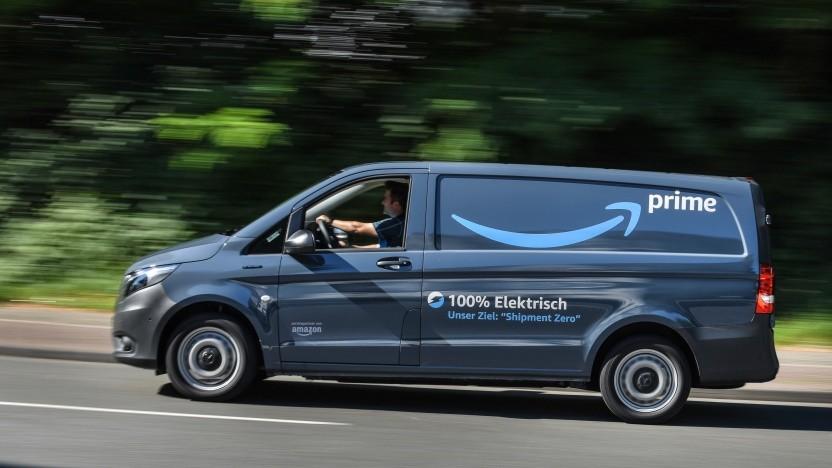 Elektrolieferwagen von Amazon: guter Anfang für Essen und das Ruhrgebiet