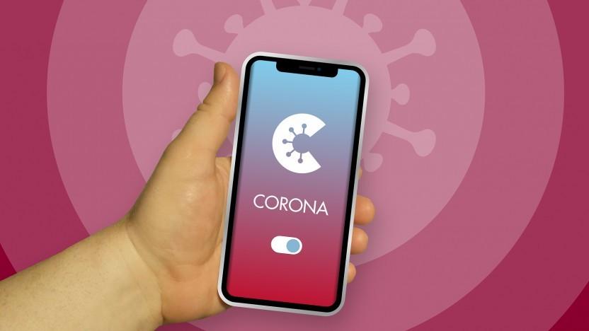 Vergleichsweise beliebt und vielsprachig: Corona-Warn-App.