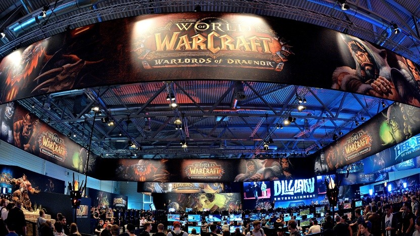 Messestand von Blizzard auf der Gamescom
