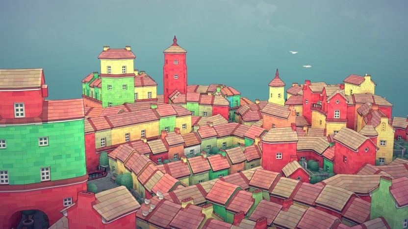 Artwork von Townscaper