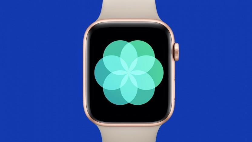 Apple Watch mit Atmen-App