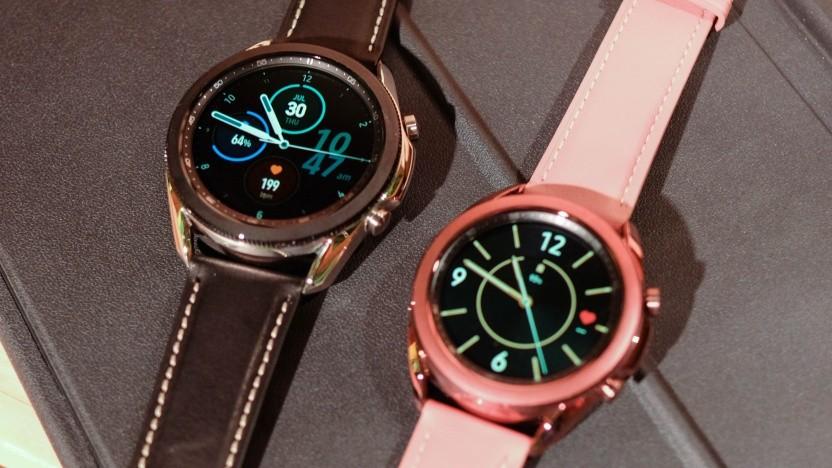 Die Galaxy Watch 3 in beiden Größen