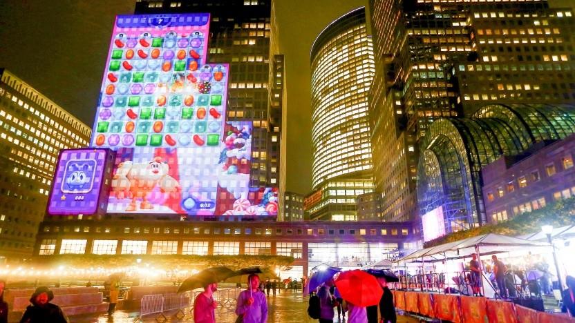 Präsentation des King-Spiels Candy Crush Friends Saga in New York im Oktober 2018