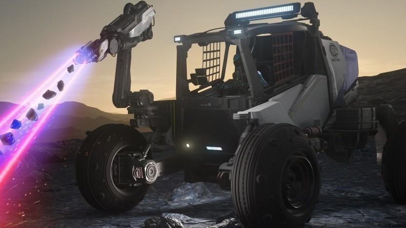 Der Greycat Roc ist ein neues Fahrzeug in Star Citizen.