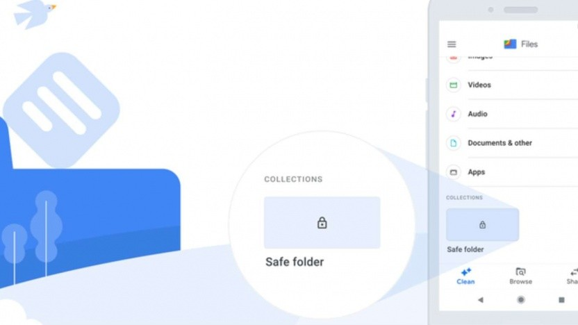 Google hat den Safe Folder vorgestellt.