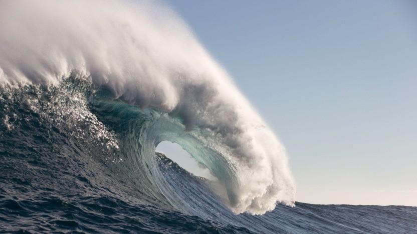 Welle (Symbolbild): mehr Wellengang, mehr Strom