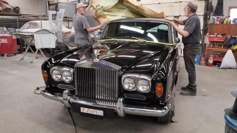 Der umgebaute Rolls-Royce Silver Shadow