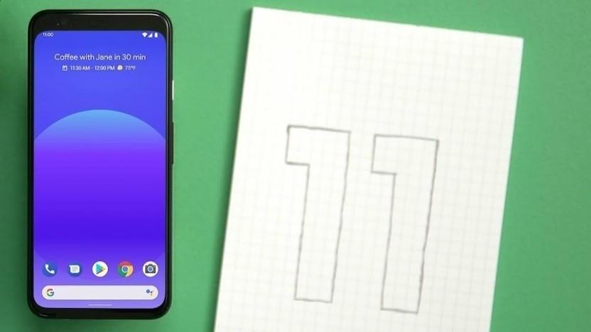 Android 11 ist soweit fertig.