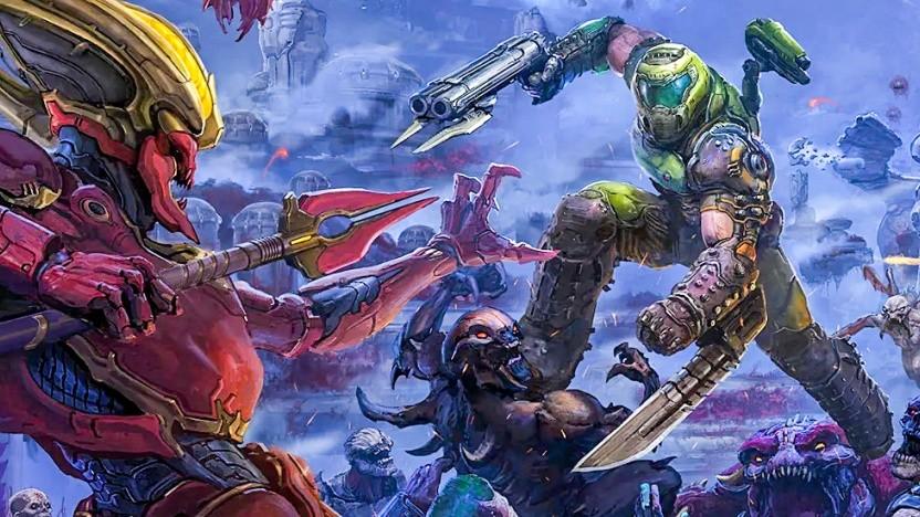 Artwork von Doom Eternal - The Ancient Gods Part 1