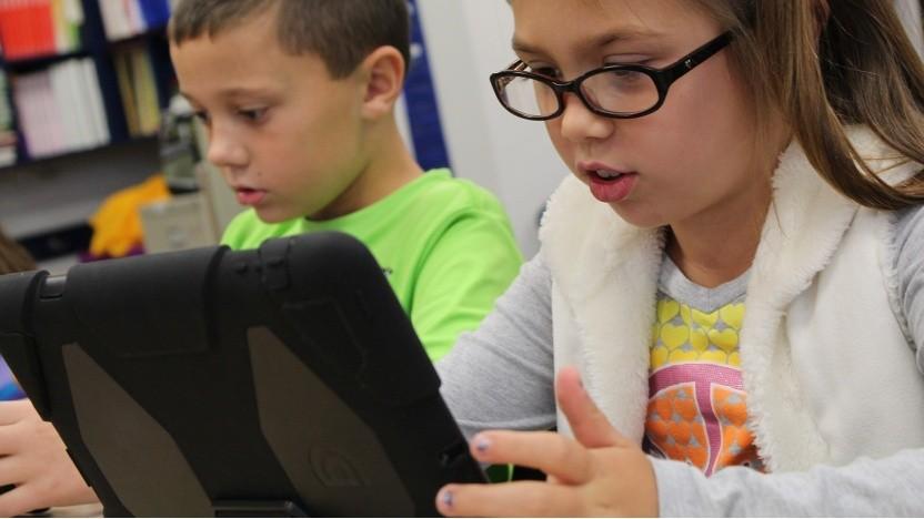 Computer und Laptops sind in Deutschland in den Schulen oft noch nicht ausreichend vorhanden.