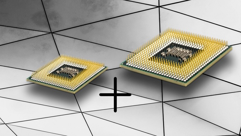 AMD kombiniert einen energiesparenden mit einem leistungsfähigeren Chip. (Symbolbild)