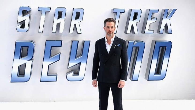 Kirk-Schauspieler Chris Pine bei der Premiere von Star Trek Beyond in Großbritannien