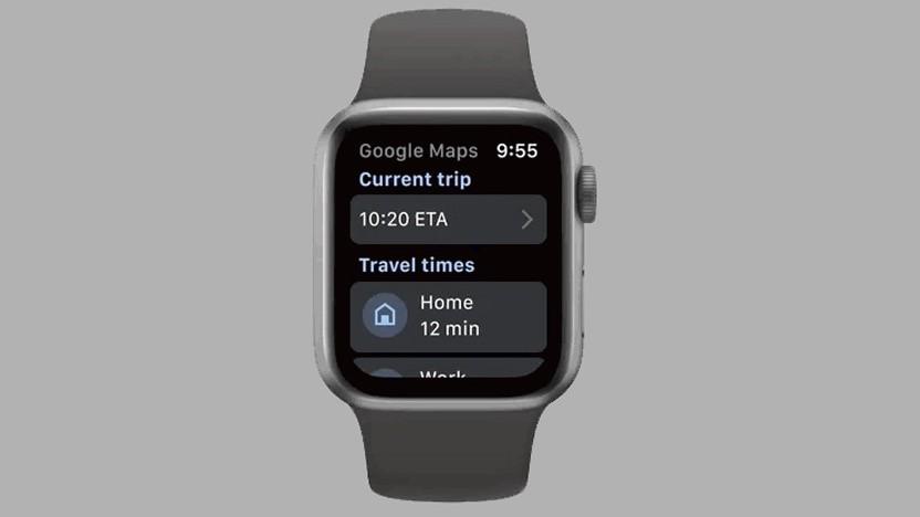 Google Maps auf der Apple Watch