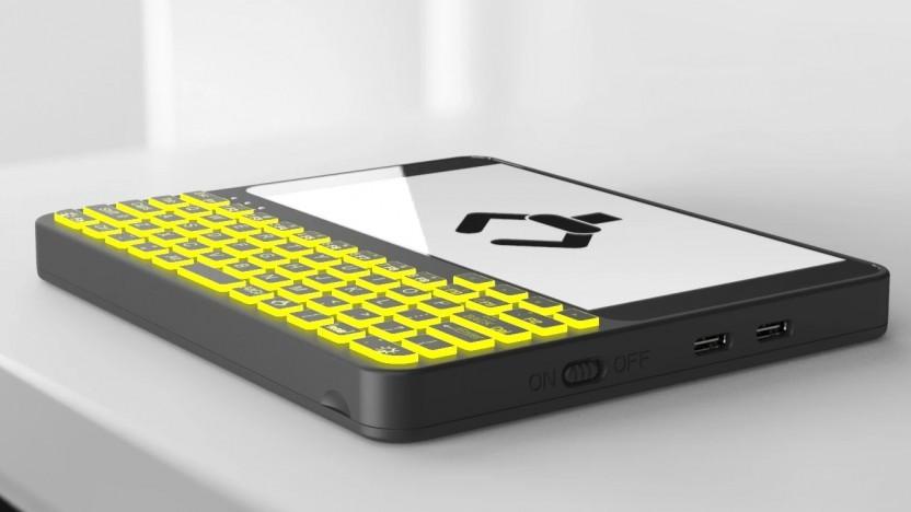 Der Pocket P.C. soll ein portabler Linux-Rechner werden.