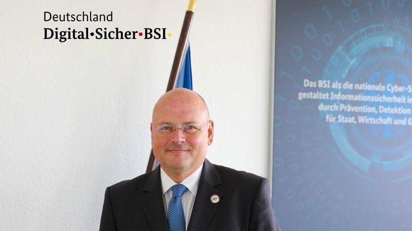 Der BSI-Chef Arne Schönbohm