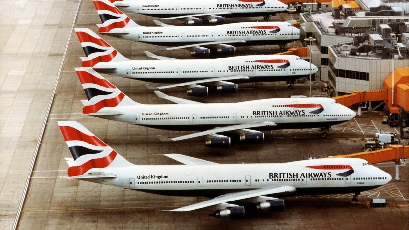 Boeing 747 der BA: Die 31 Jumbos weden außer Dienst gestellt.