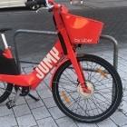 Fahrradverleih Jump: Rote E-Bikes zum Leihen sind zurück