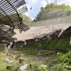 Astronomie: Arecibo-Radioteleskop schwer beschädigt