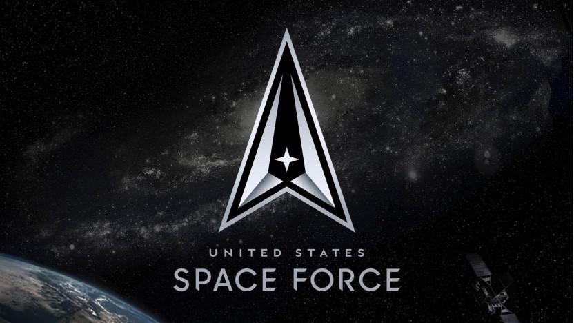 Logo der US Space Force: Die Gegner haben den Weltraum zu einem Kriegsschauplatz gemacht.