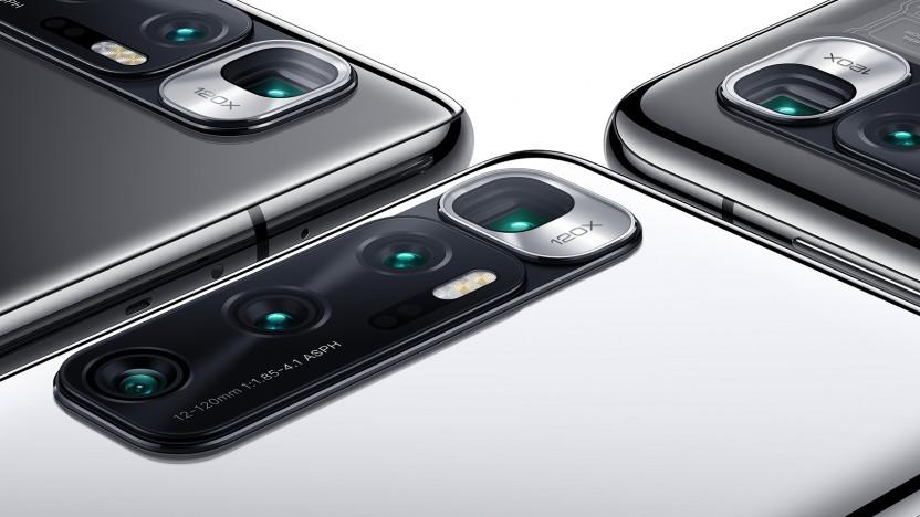 Das Kameramodul des MI 10 Ultra von Xiaomi