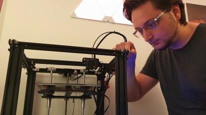 Ender-5 Pro: Zwischen Lust und Frust mit meinem ersten 3D-Drucker - Golem.de