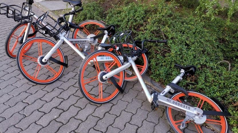 Leihräderchaos in den Straßen von Berlin: E-Scooter stehen dagegen im Zentrum der Kritik.