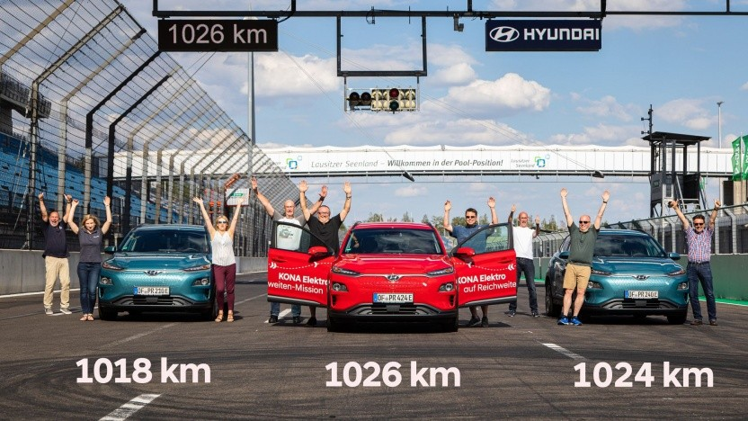 Die drei Hyundai Kona nach dem Dauertest: Er läuft und läuft und läuft und läuft ...
