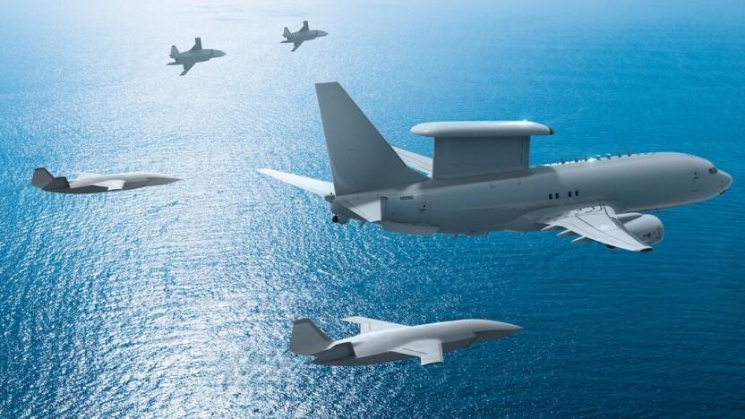 Boeing entwickelt derzeit autonome Kampfdrohnen für die US Air Force.