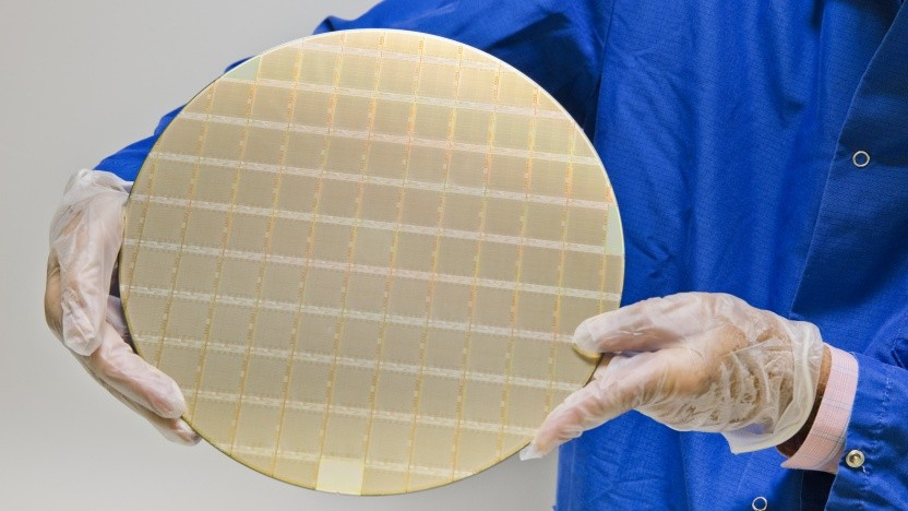 Wafer mit Power10-CPUs