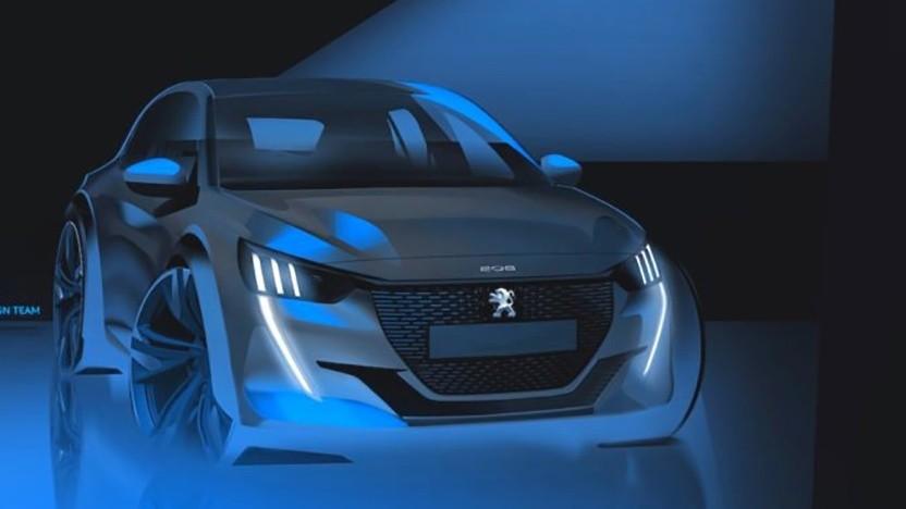 Konzept des Peugeot e-208 PSE