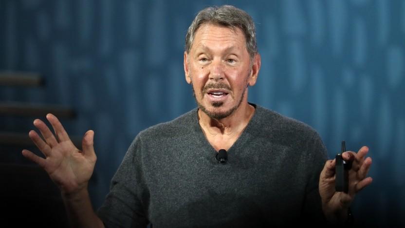 Oracle-Gründer Larry Ellison im September 2019