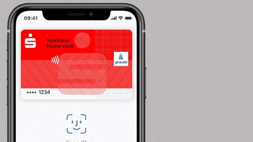 Girokarten in Apple Pay