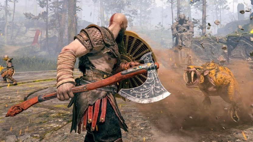 Artwork von God of War