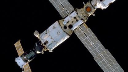 Raumfahrt: Die Internationale Raumstation verliert wieder Luft - Golem.de