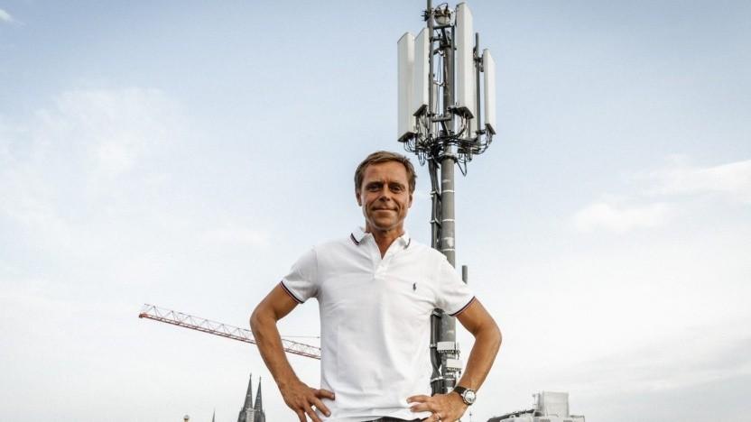 Bekannt für offene Worte: Gerhard Mack, Chief Technical Officer der Vodafone Deutschland