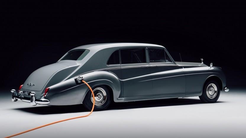 Rolls-Royce mit Elektroantrieb