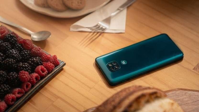 Das Moto G9 Play von Motorola