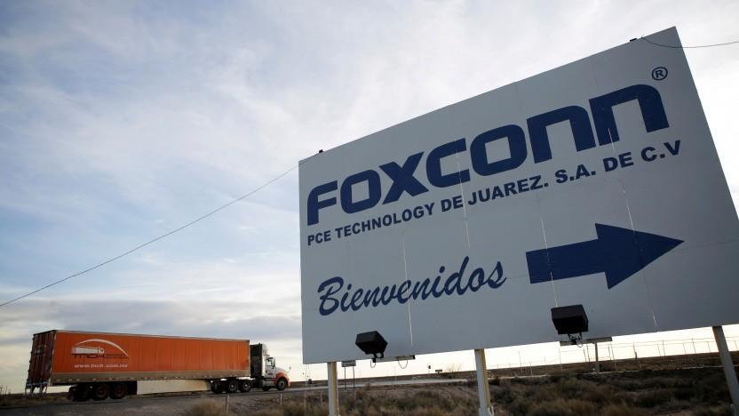 Foxconn hat bereits Fabriken in Mexiko.