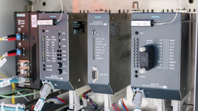Digitale Technik im Stellwerk Annaberg-Buchholz