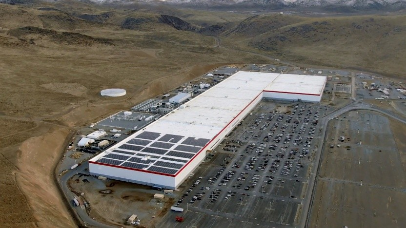 Teslas Gigafactory in Nevada